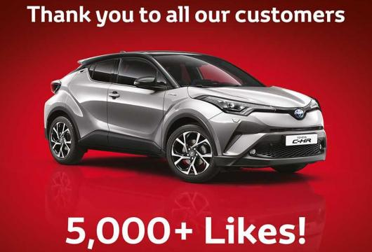 Thank you to all our customers - 5,000+ Likes!
